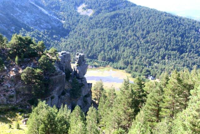 la laguna de la Cascada desde arriba - Destino Castilla y León