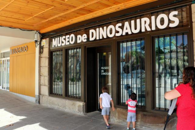Entrada al Museo de Historia y Paleontología de Salas de los infantes - Destino Castilla y León