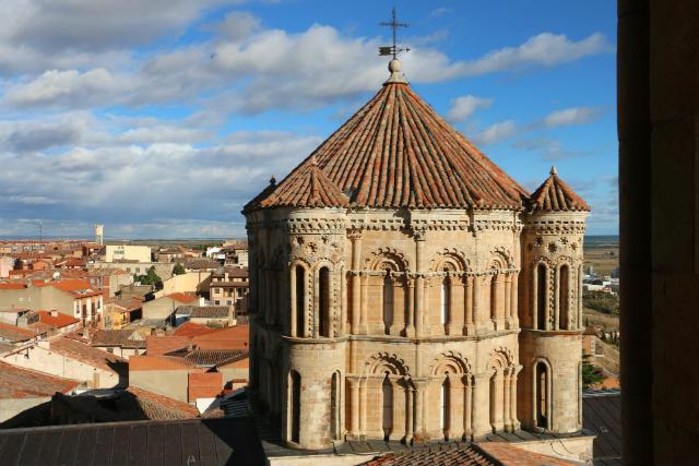 Cimborrio de la Colegiata de Toro desde la torre - Destino Castilla y León