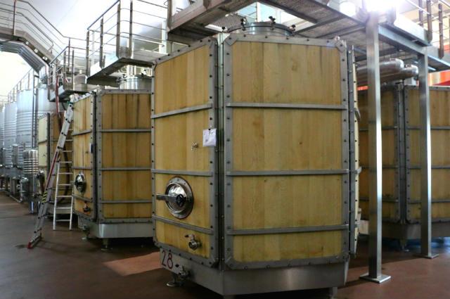 Depósito de fermentación de materiales mixtos de Valbusenda - Destino Castilla y León