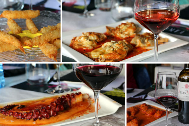 Algunos de los platos del menú degustación del Restaurante La Panera - Destino Castilla y León