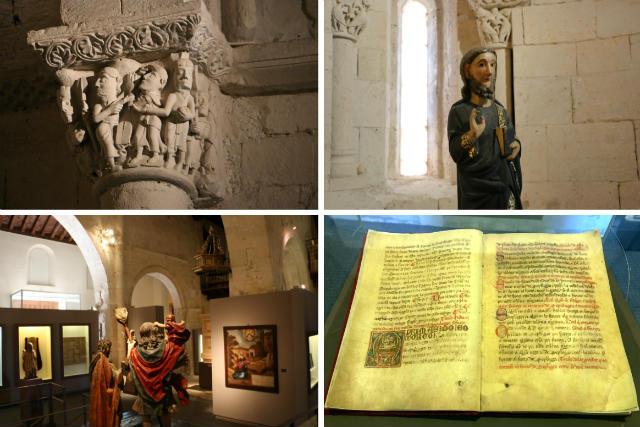 Algunos detalles del interior del Museo de los Fueros - Destino Castilla y León