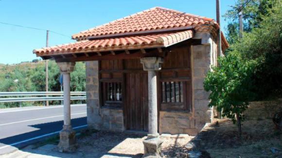 Ermita del Humilladero de san esteban de la sierra - Imagen de la Gaceta de Salamanca
