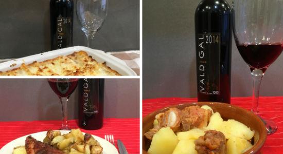 Maridajes variados con el vino crianza Valdigal 2014 - Imagen de La mesa del Conde