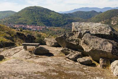 Mirador a San Esteban de la Sierra - Imagen de la Ruta de los Lagares Rupestres