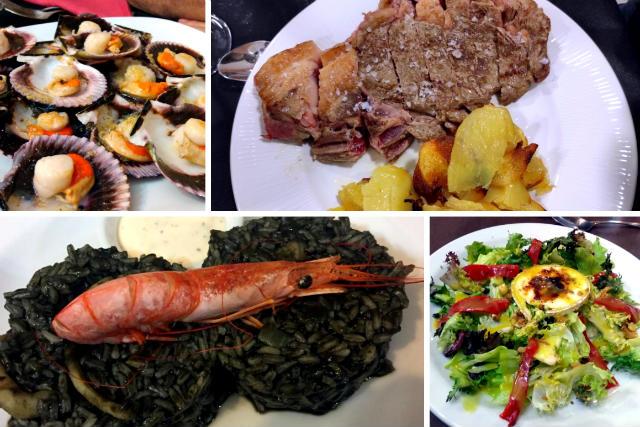 Comer en San Esteban de la Sierra - Composición de Destino Castilla y León
