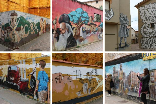 Ruta del Arte, murales repartidos por todo Belorado - Destino Castilla y León