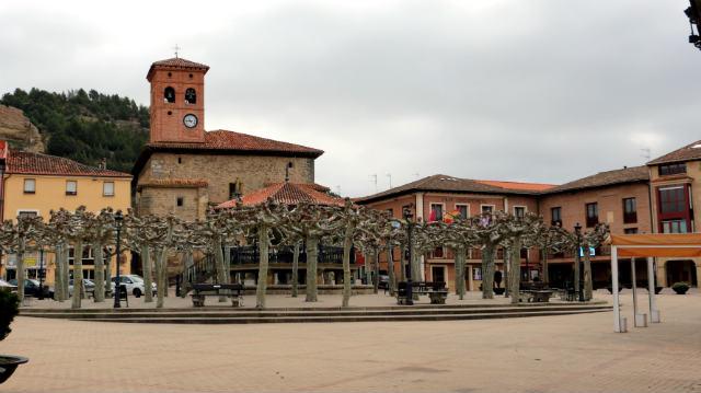 Plaza mayor de Belorado - Destino Castilla y León