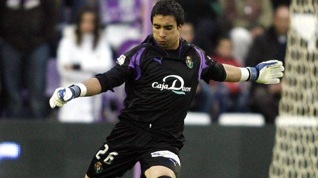 Sergio Asenjo como jugador del Real Valladolid - Imagen de El Norte de Castilla
