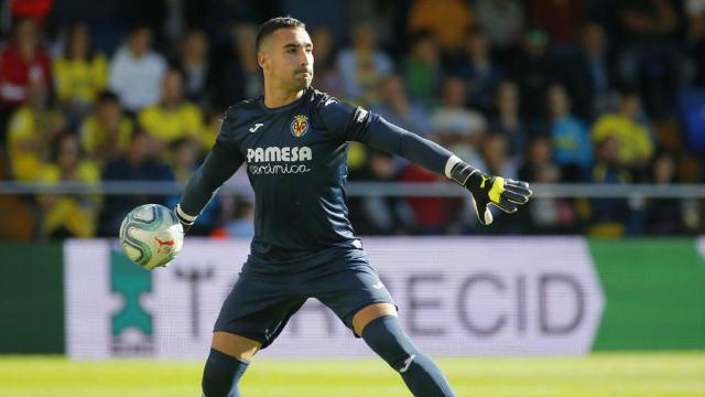 Sergio Asenjo como jugador del Villarreal - Imagen de MARCA