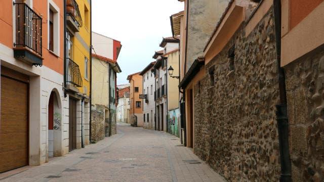 Calle Mayor de Belorado - Destino Castilla y León