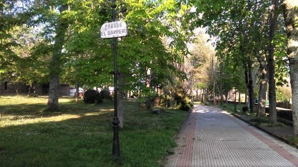 Parque de Barreros de Sequeros - Imagen de Gaceta de Salamancas