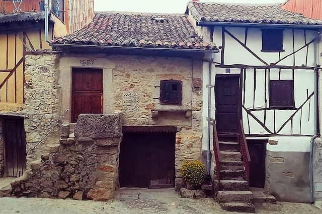 Arquitectura popular serrana de Miranda del Castañar