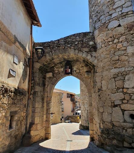 Puerta de San Ginés de Miranda del Castañar