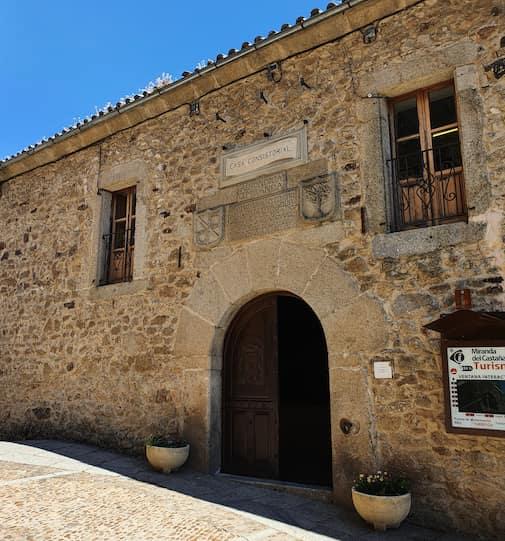 Ayuntamiento de Miranda del Castañar, antiguo Pósito Real