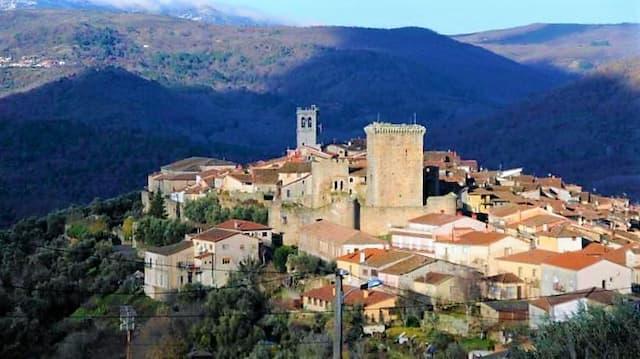 Vista de Miranda del Castañar - Imagen de La Gaceta de Salamanca