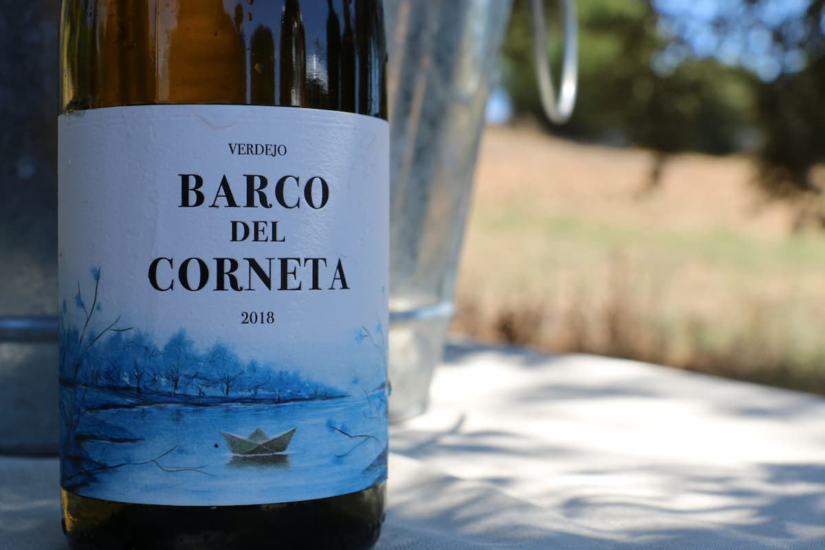 vino verdejo Barco del Corneta
