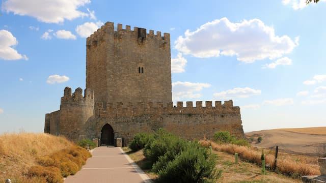 Hacia el castillo de Tiedra - Destino Castilla y León