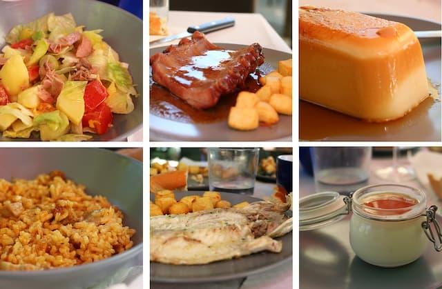 Menús del Bar-Restaurante de Tiedra - Destino Castilla y León