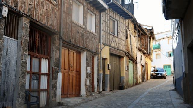 Calles y edificios de Garcibuey - Destino Castilla y León