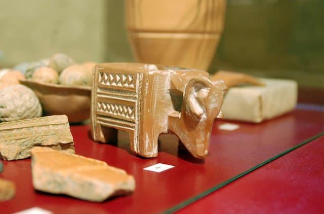 Piezas del Aula arqueológica de Tiedra - Imagen de Tiedra.es