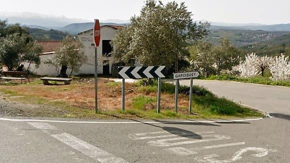 Entrada a Garcibuey - Destino Castilla y León