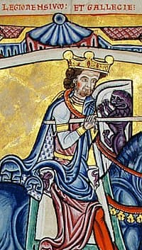 Alfonso IX de León - Imagen de Wikipedia