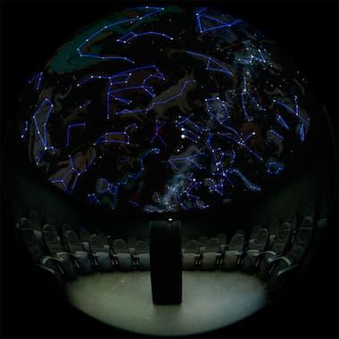 Planetario del Centro Astronómico de Tiedra - Imagen de Cielo y Tiedra