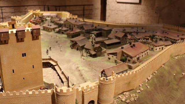 Maqueta de la villa medieval