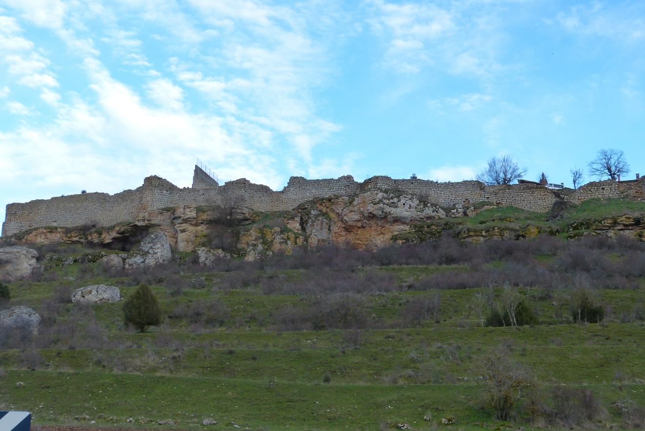 Vistas desde el valle del cerro de Catalañazor