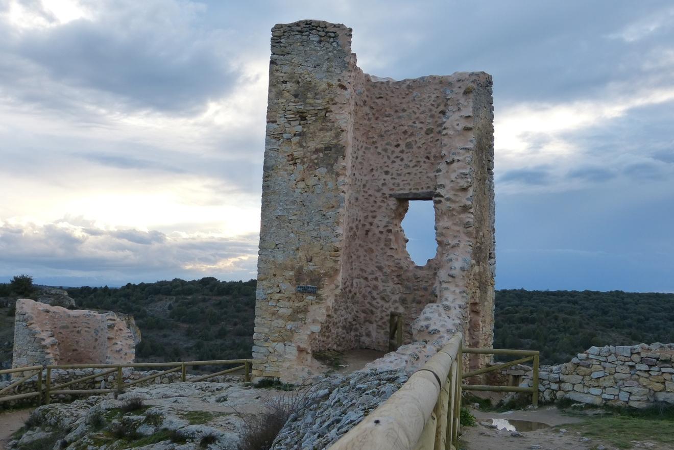 Ruinas de una torre defensiva